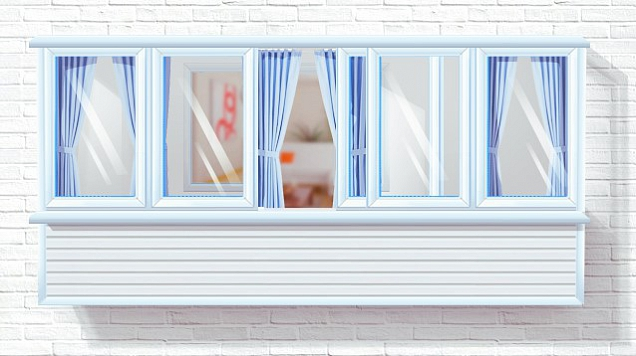 мытье окон на застекленном балконе